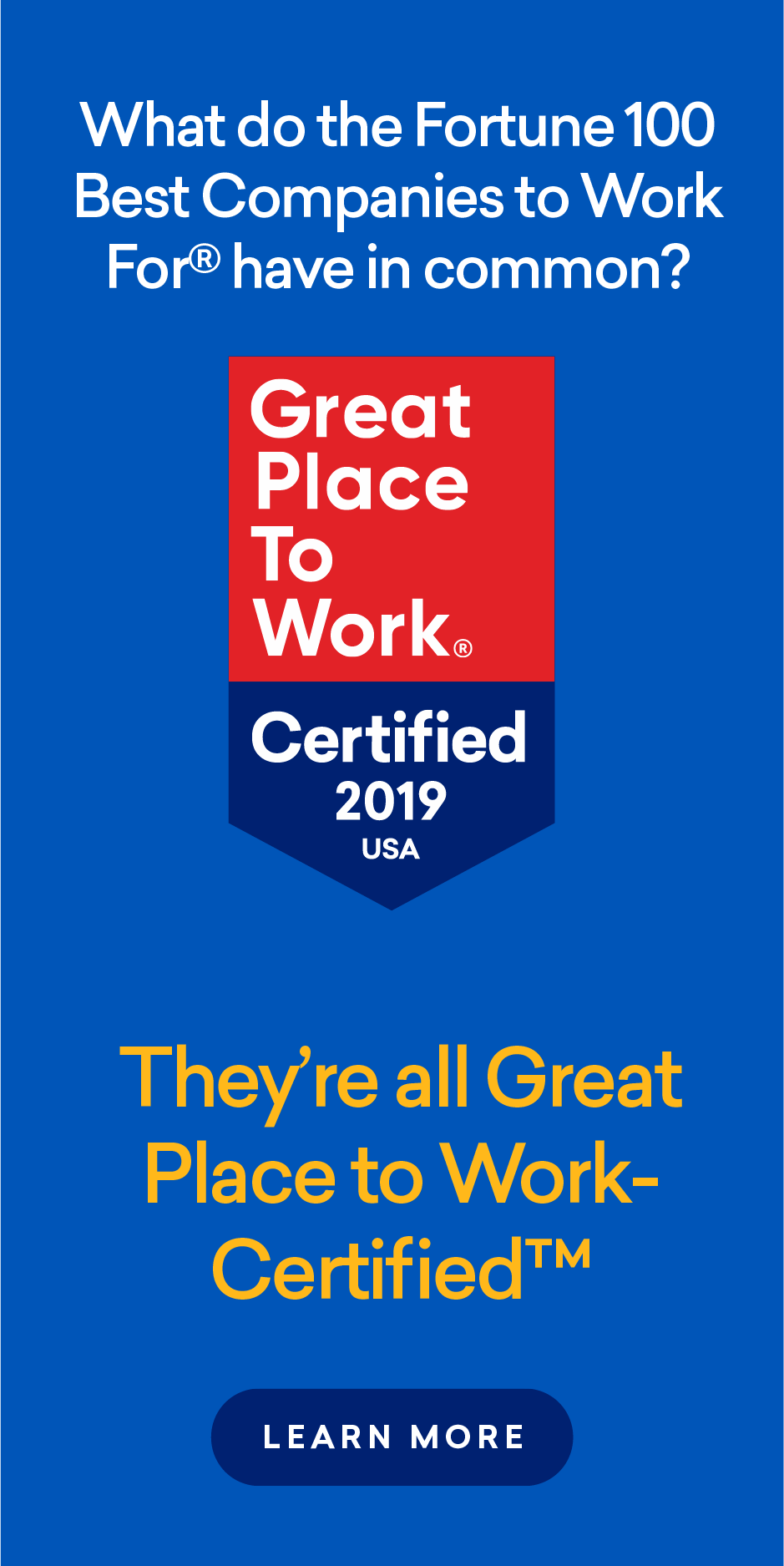 PEOPLE 2019 Companies that Care®