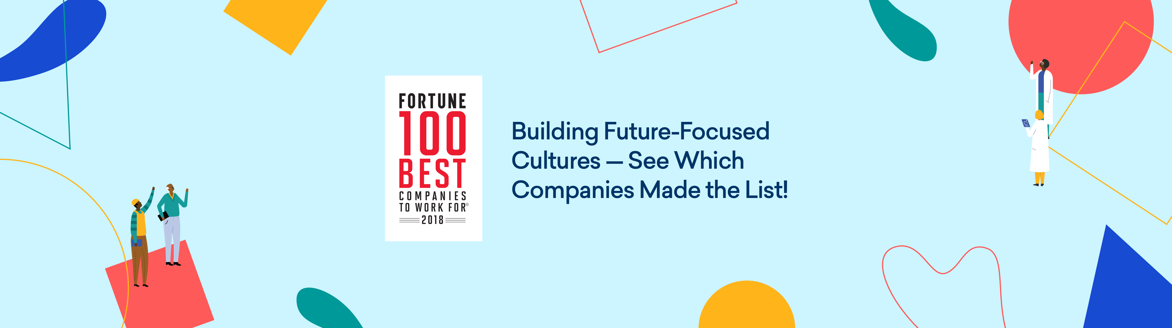 FORTUNE 100 Best Companies to work for, 2018