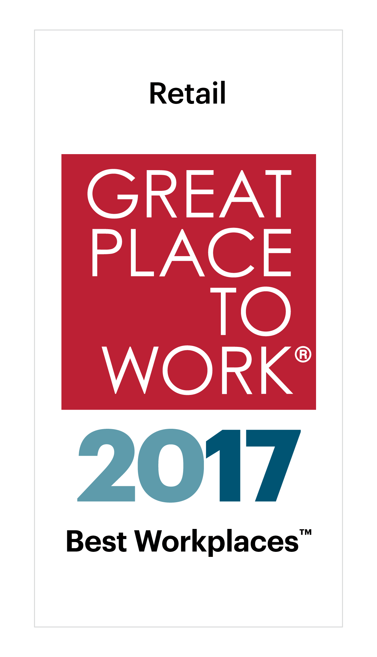 d49f5ff0 Best Workplaces in Retail 2017