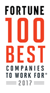 2017 fortune 100 best companies to work for list