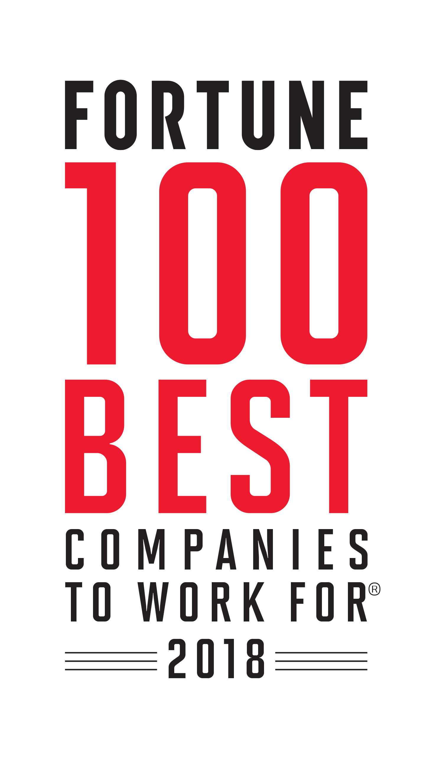 Fortune 100 Best Companies To Work ForR 2018
