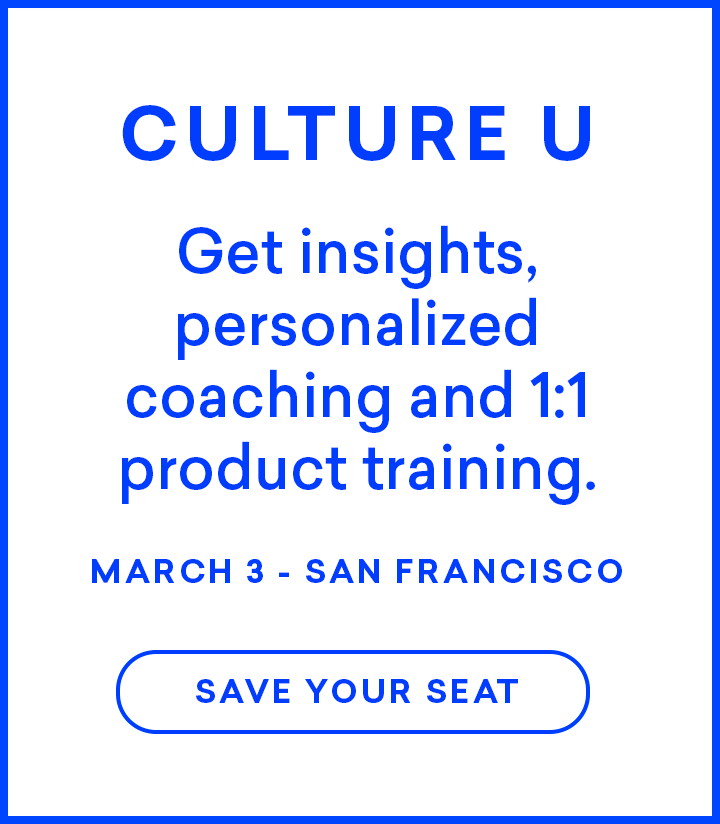 Sign Up for Culture U Today!