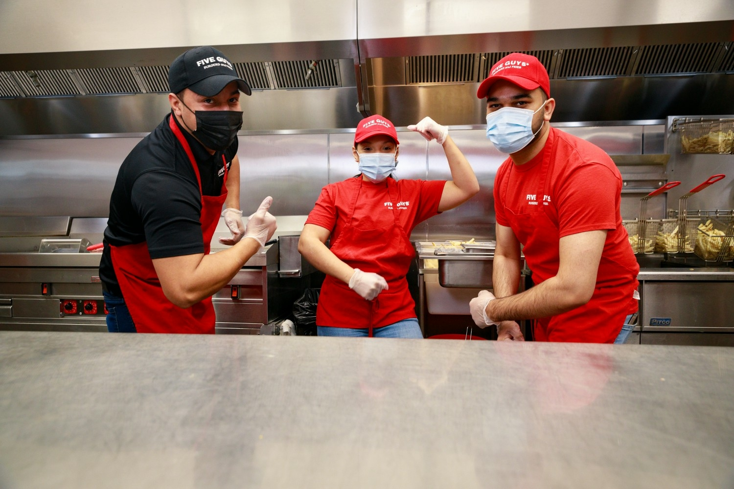Five Guys Enterprises LLC Photo